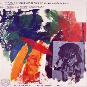 Last Turn Your Turn, © Robert Rauschenberg :Licensed by VAGA, New York,
