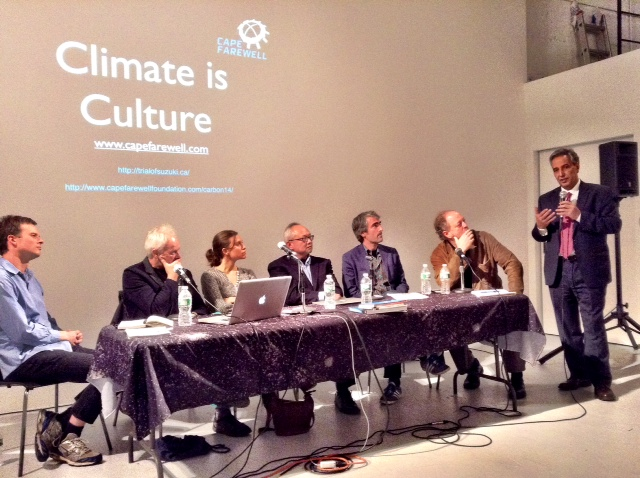 Climate is Culture panel, Photos courtesy Aleta Wolfe